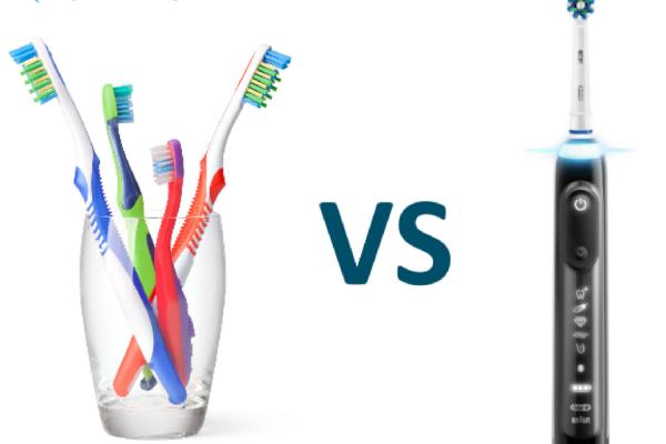 Periuța de dinți manuală, cea pe baterie sau cea electrică?